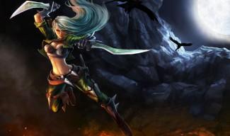 Mercenary Katarina Skin - Chinese (2)