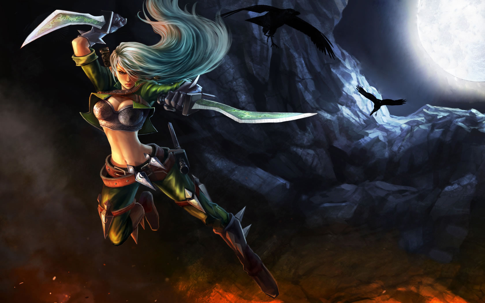 Mercenary Katarina Skin Chinese 2 League Of Legends