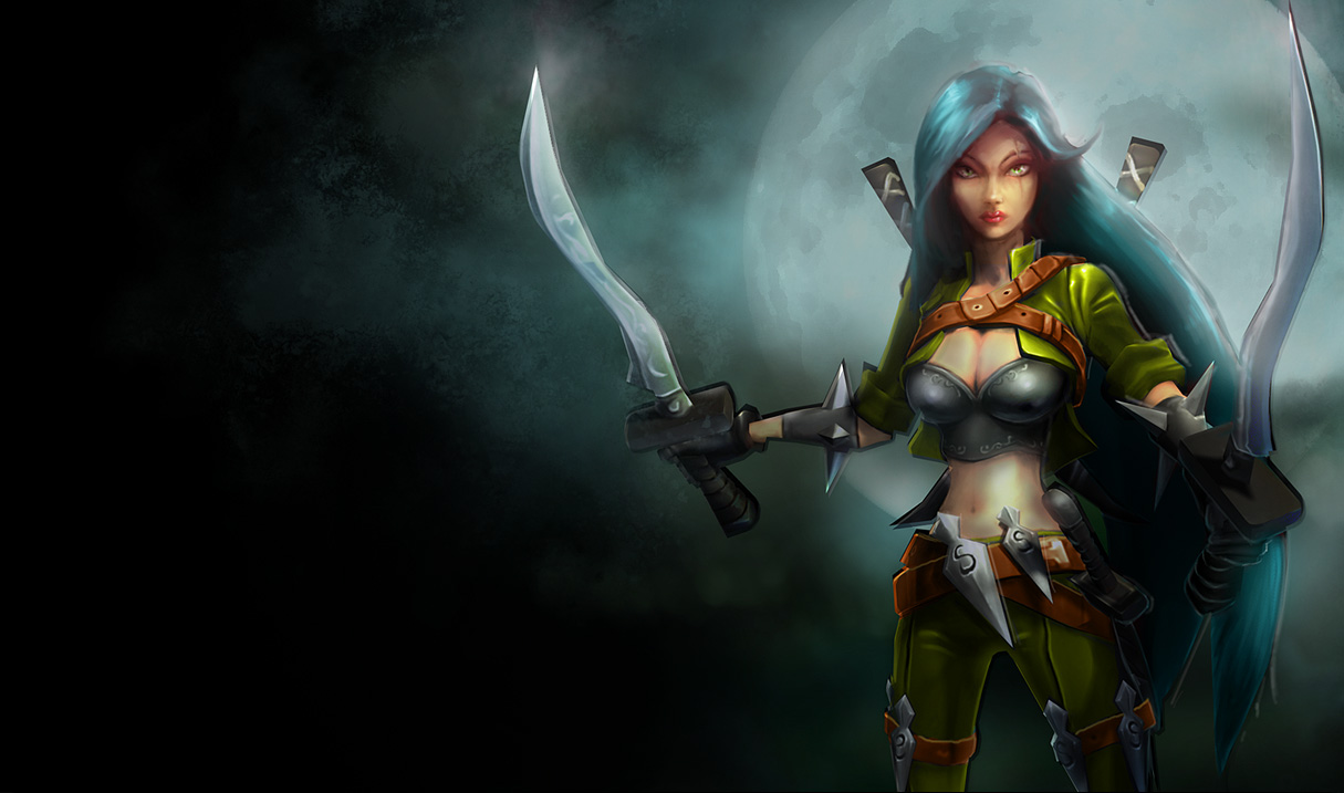 Mercenary Katarina Skin - Original