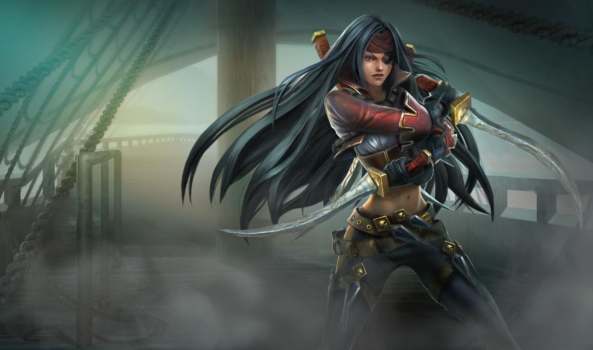 Bilgewater Katarina Skin - Chinese