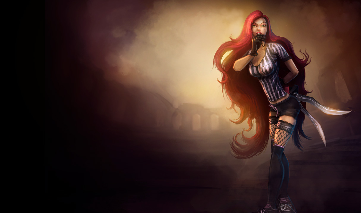 Red Card Katarina Skin