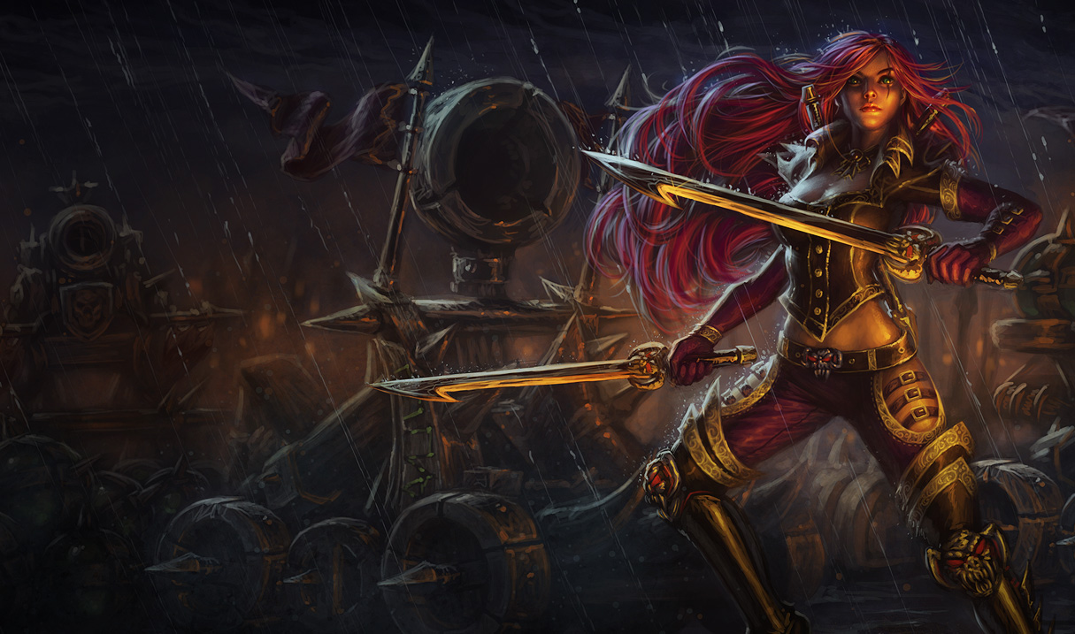 High Command Katarina Skin League Of Legends Wallpapers