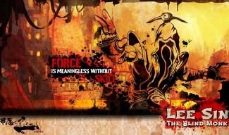 Lee Sin Wallpaper by alpha1337