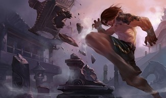 Traditional Lee Sin - Chinese Art