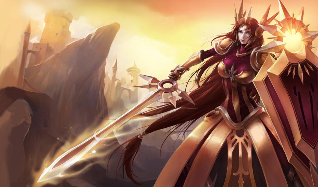 Leona Classic Skin - Chinese