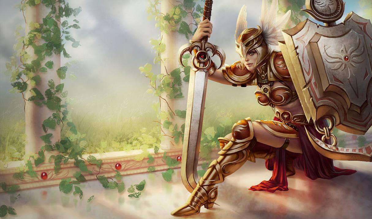Leona - League of Legends Wallpapers