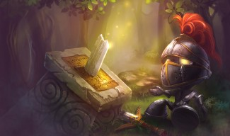 Little Knight Amumu Skin