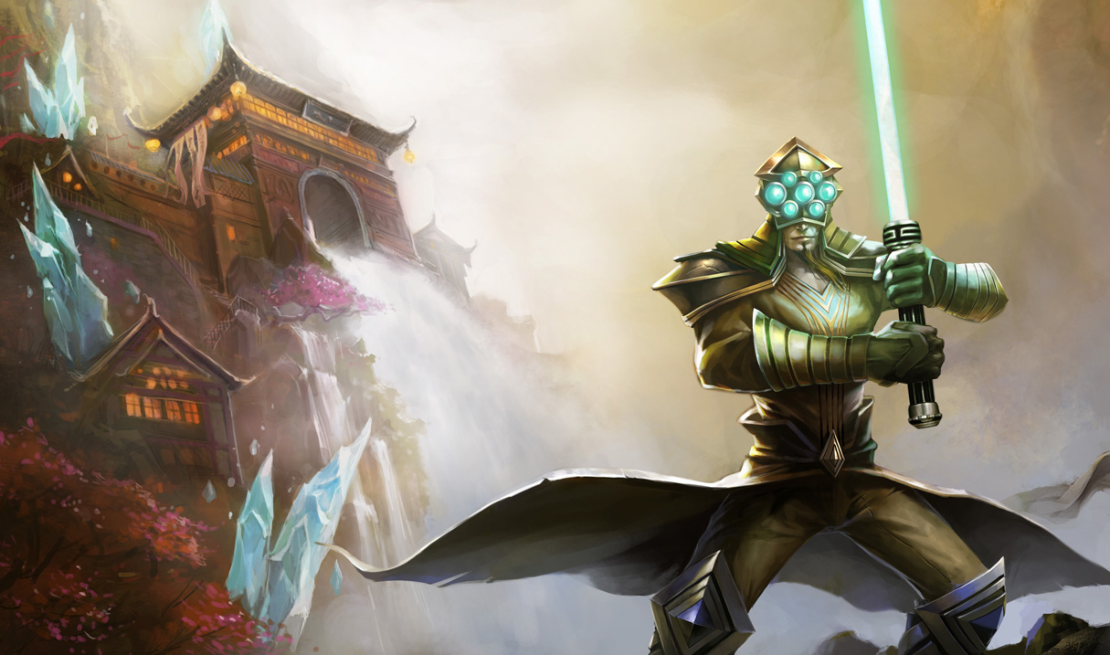 Chosen Master Yi Old League Of Legends Wallpapers