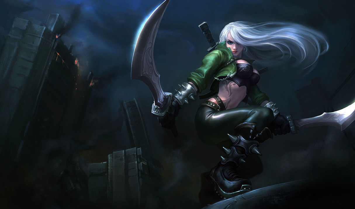 Mercenary Katarina Skin - Updated