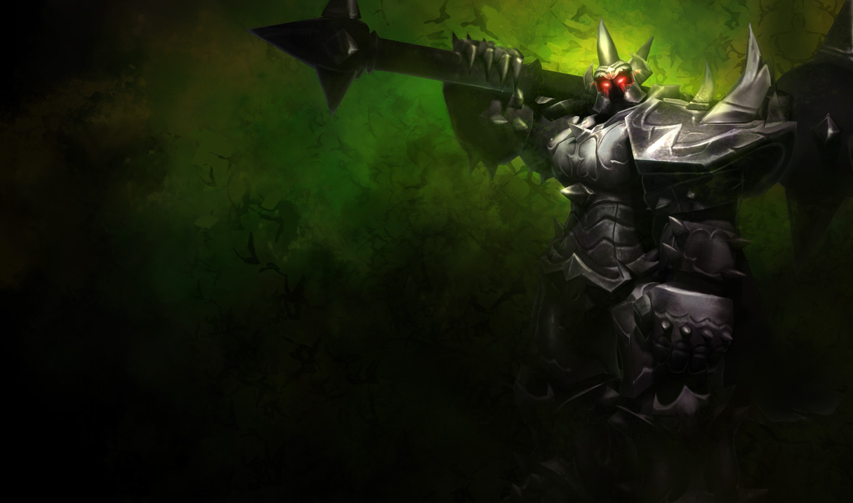 Mordekaiser Classic Skin Old League Of Legends Wallpapers