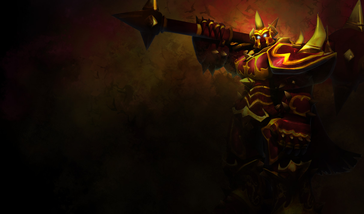 ... Dragon Knight Mordekaiser skin, later updated with Chinese client art