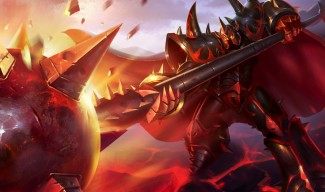 Infernal Mordekaiser Skin - Chinese