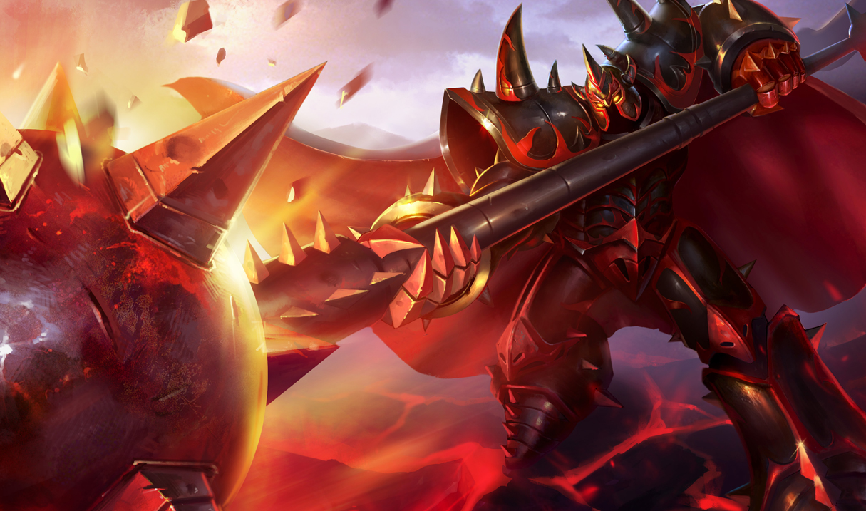 Mordekaiser league of legends wallpapers infernal mordekaiser skin chinese voltagebd Images