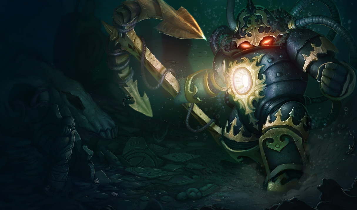 Nautilus League Of Legends Wallpapers