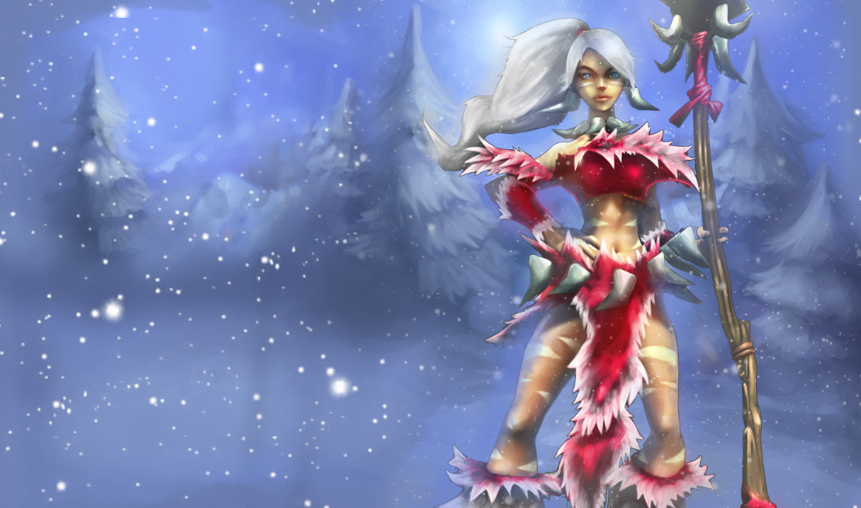 Snow Bunny Nidalee Skin (Original)