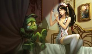 Nurse Akali Skin