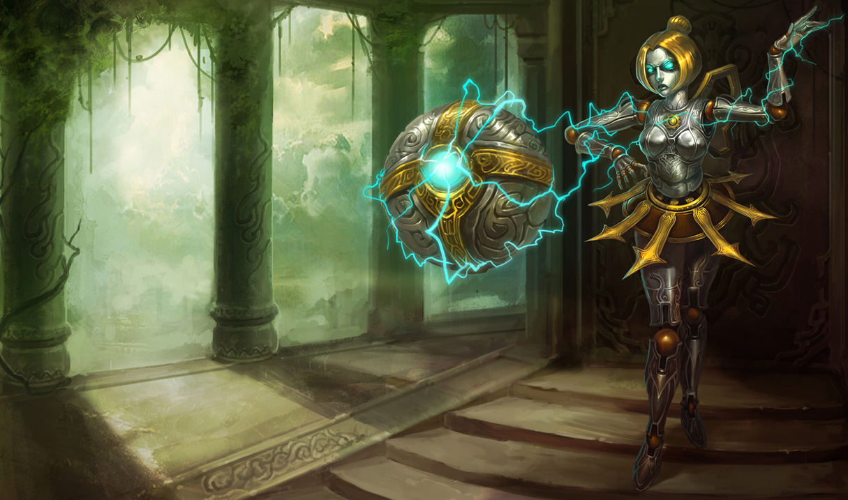 Classic Orianna Skin Chinese Original League Of Legends Wallpapers