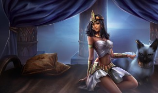Pharaoh Nidalee Skin - Chinese