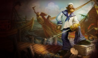 Sailor Gangplank Skin
