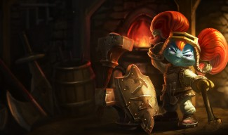 Blacksmith Poppy Skin
