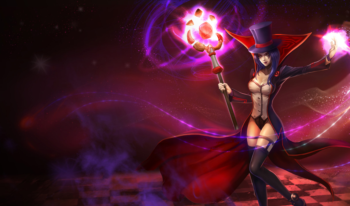 Prestigious LeBlanc Skin - Chinese - League of Legends Wallpapers Orianna Splash Art