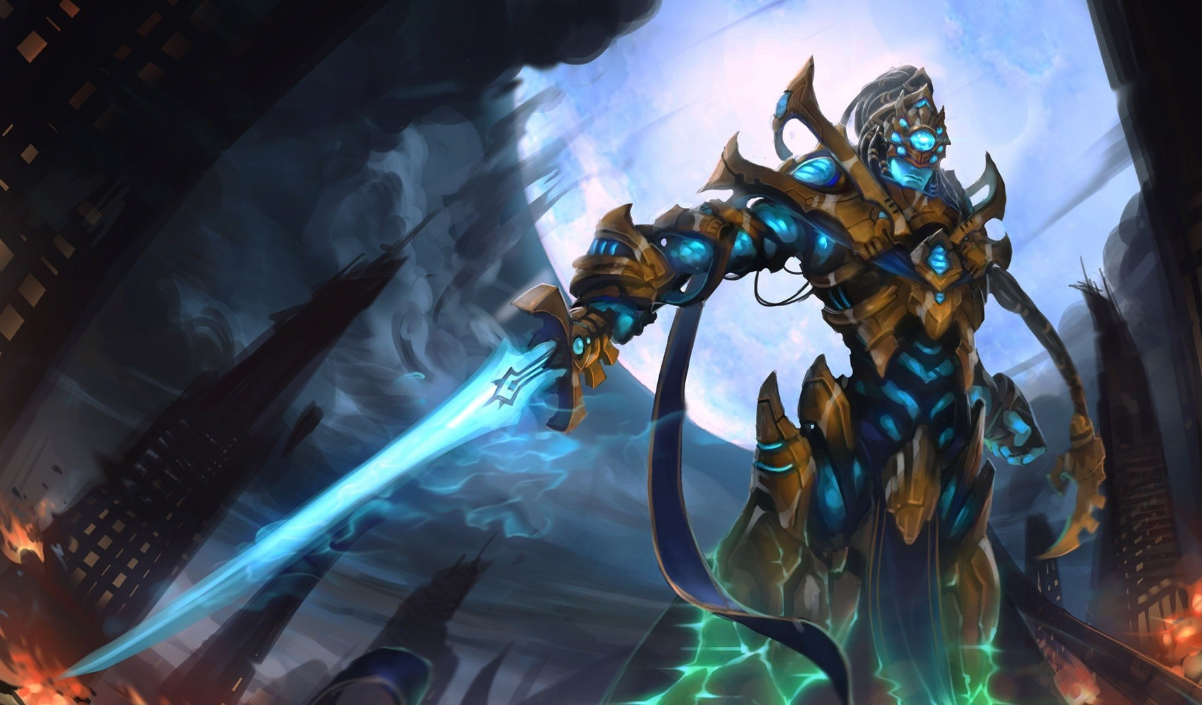 Skin idea for Pulsefire Master Yi made by supermarine Assassin Master Yi In Game