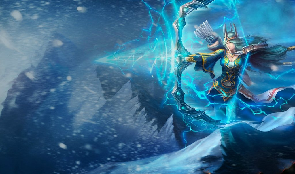 Queen Ashe Splash (Reworked, Chinese)