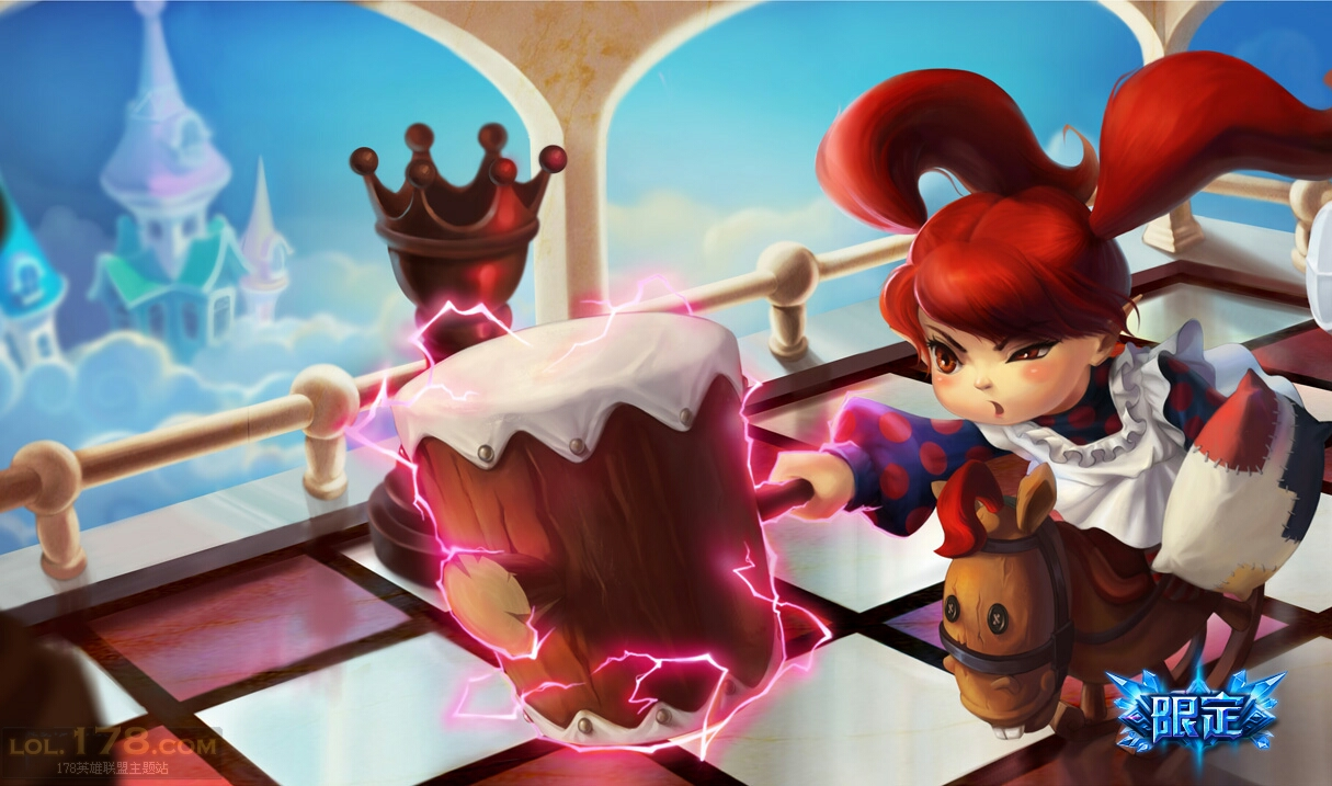 ragdoll poppy skin chinese league of legends wallpapers