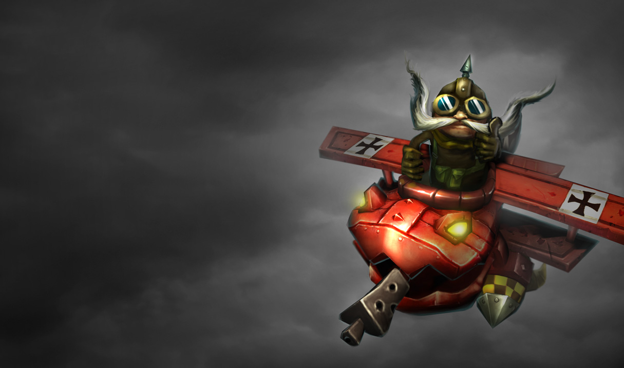 P.O League Of Legends Champs And Skins Red-Baron-Corki