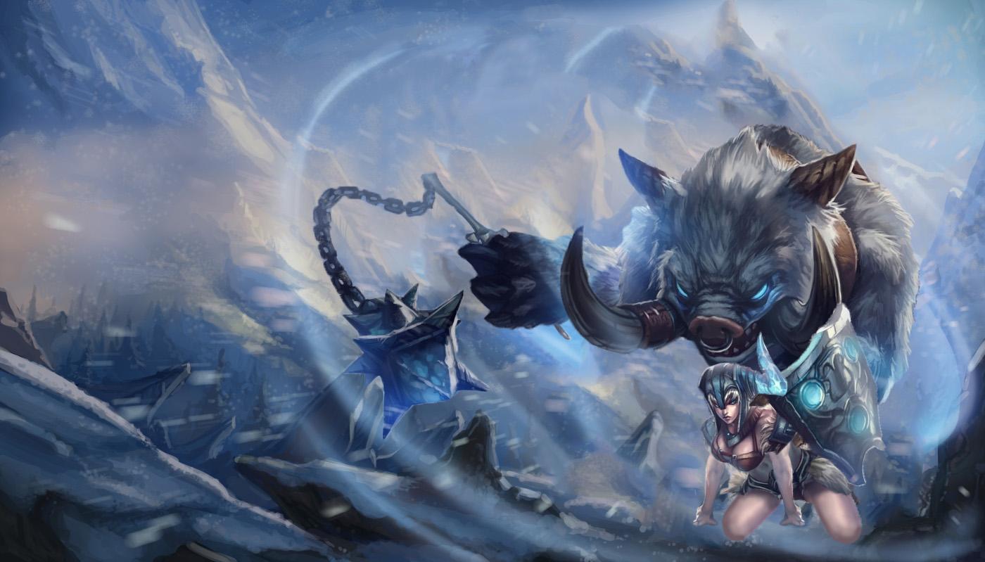 Reverse Sejuani League Of Legends Wallpapers