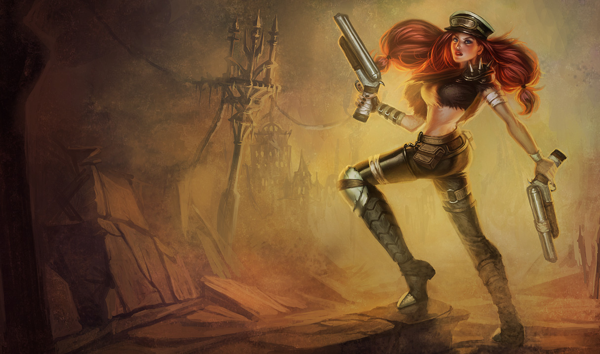 Road Warrior Miss Fortune Skin League Of Legends Wallpapers