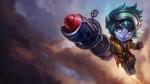 Rocketeer Tristana Skin - Updated
