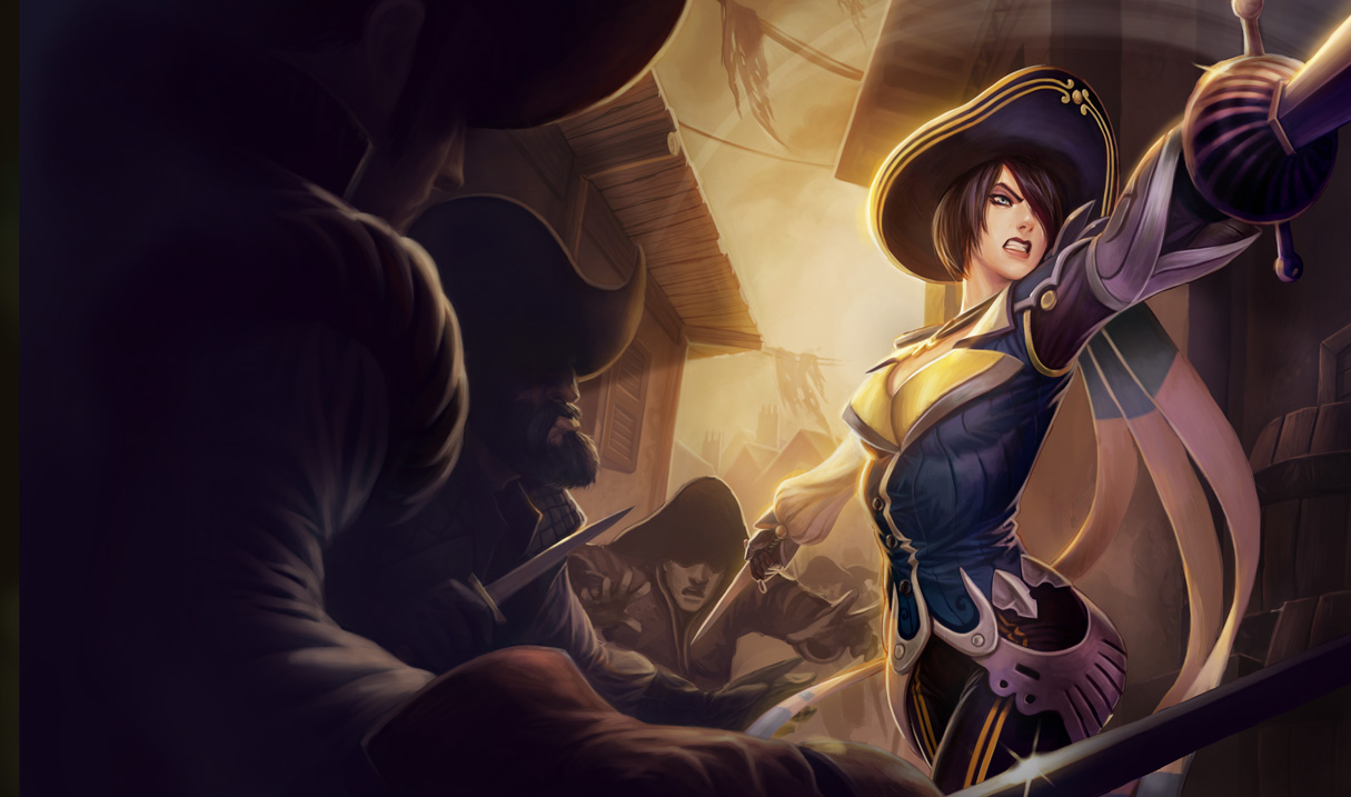 Royal Guard Fiora Skin League Of Legends Wallpapers