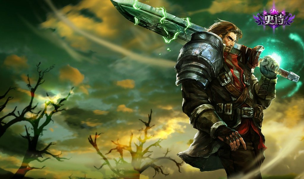 Rugged Garen Skin Chinese