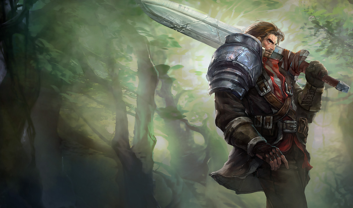 GT in LEAGUE OF LEGENDS cual heroe usas y porque Rugged-Garen