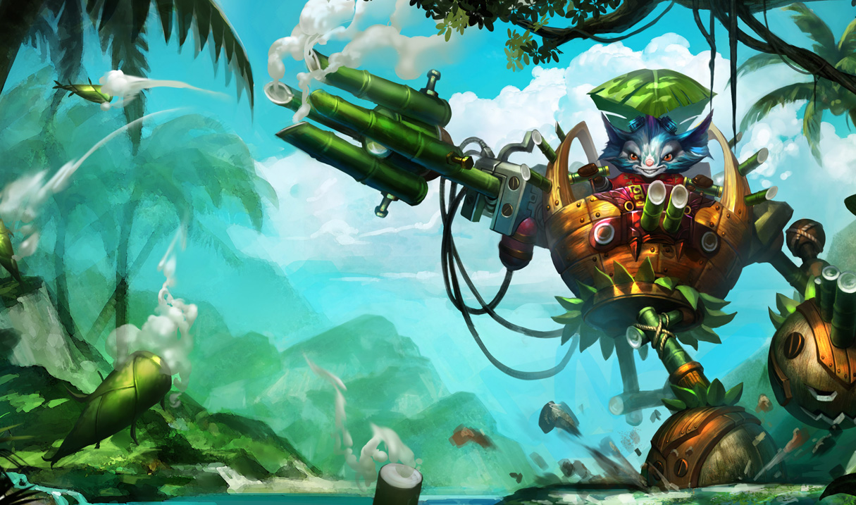 Rumble in the Jungle Skin - Chinese
