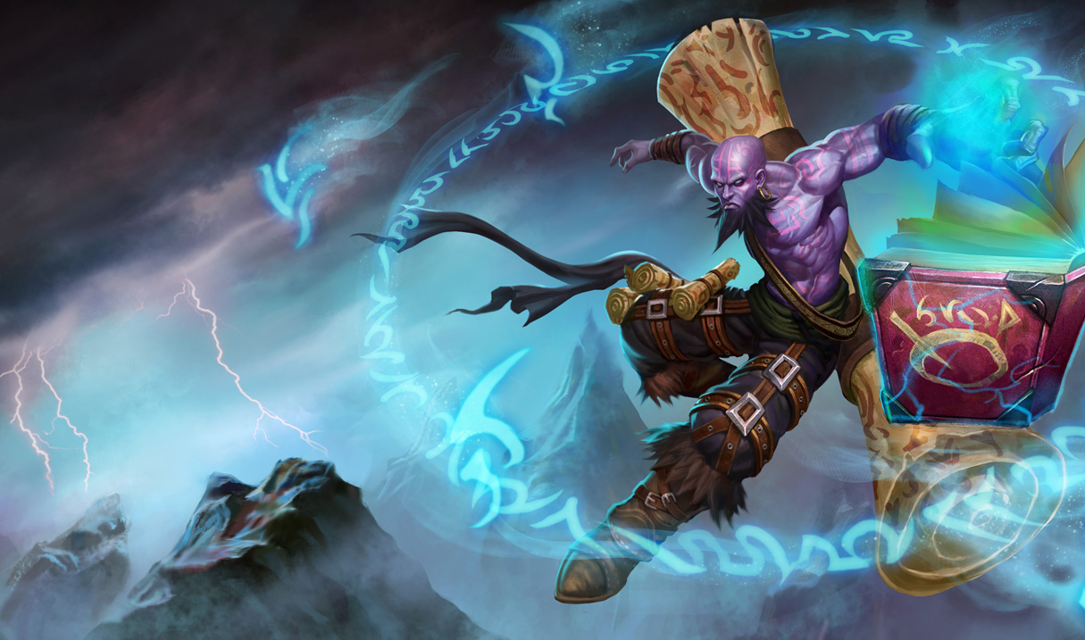ryze classic skin chinese league of legends wallpapers