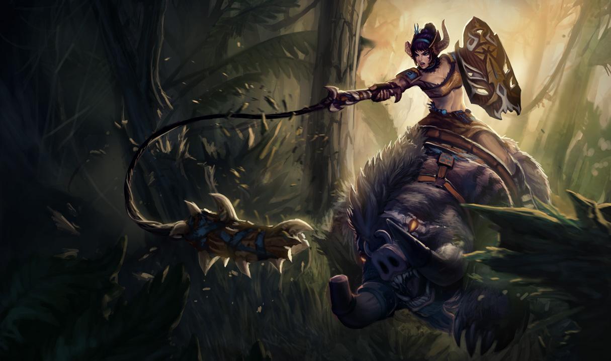 Sabretusk Sejuani Skin League Of Legends Wallpapers