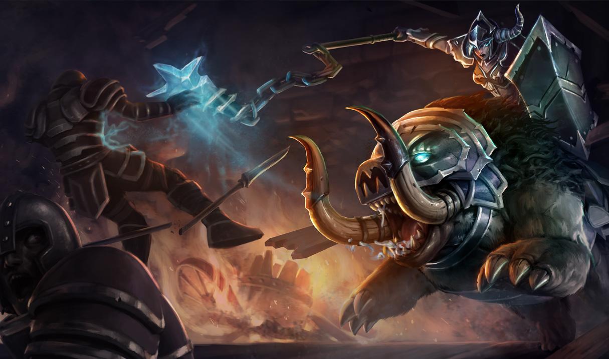 Darkrider Sejuani Skin League Of Legends Wallpapers