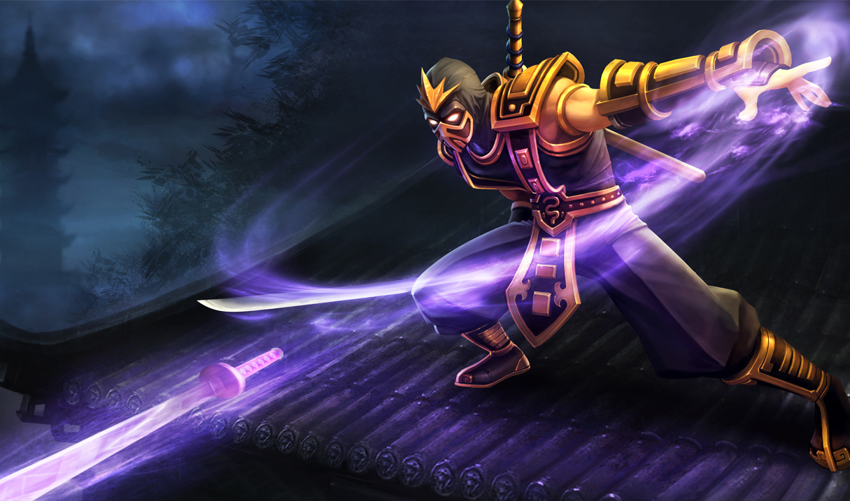 Yellow Jacket Shen Skin - Updated - League of Legends ...