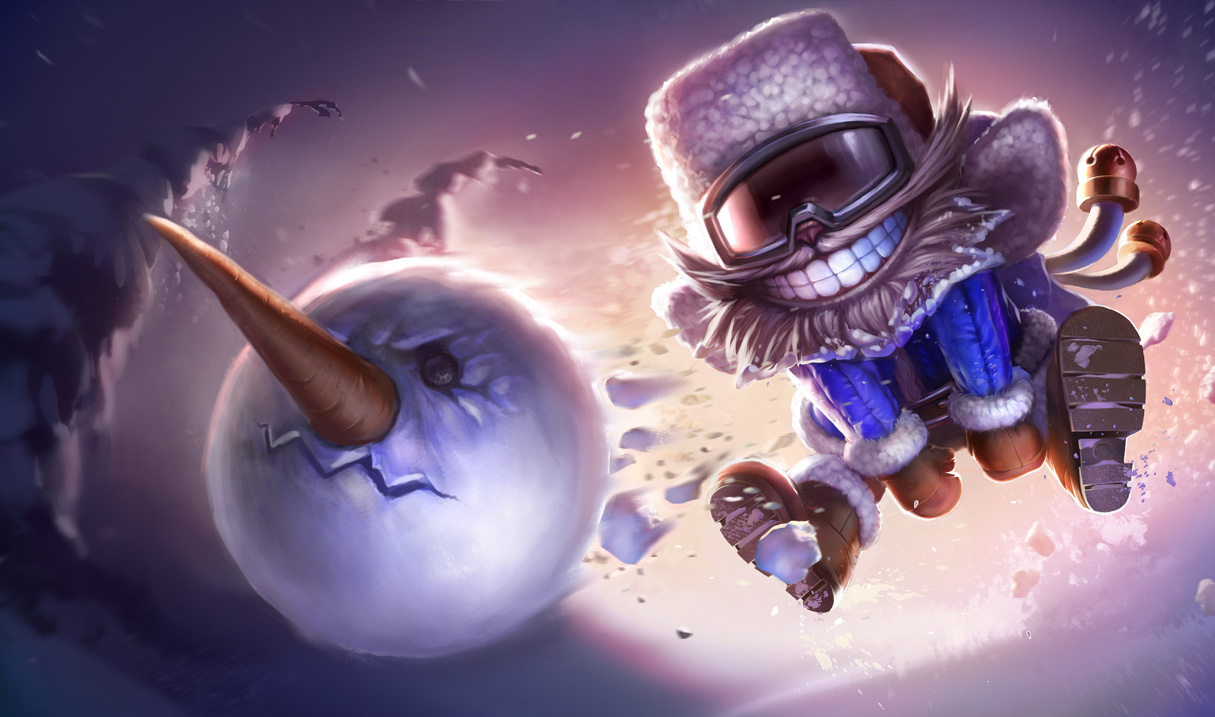 Snow Day Ziggs Skin