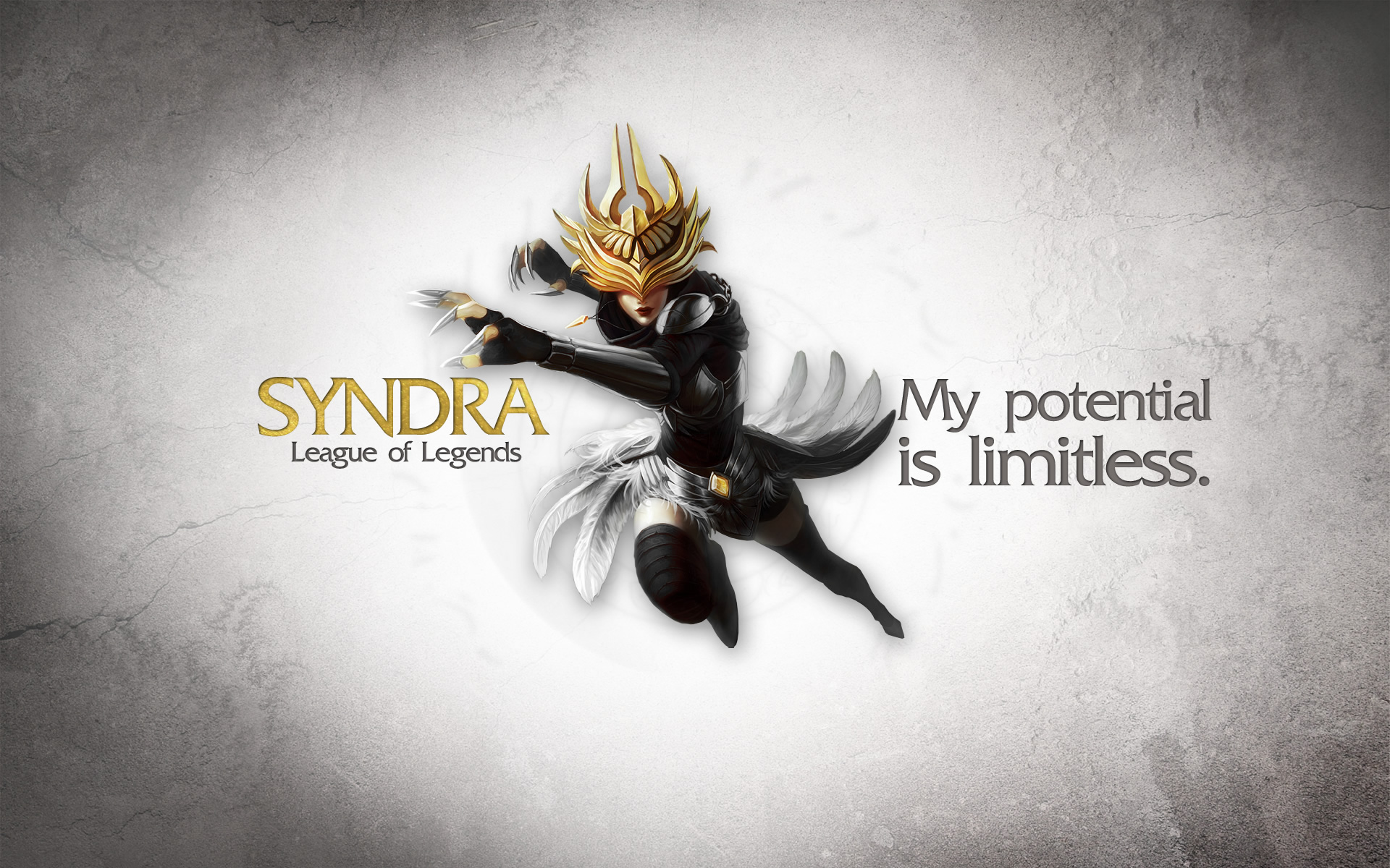 Syndra wallpaper by Desess