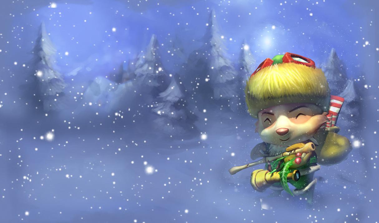 Happy Elf Teemo Skin