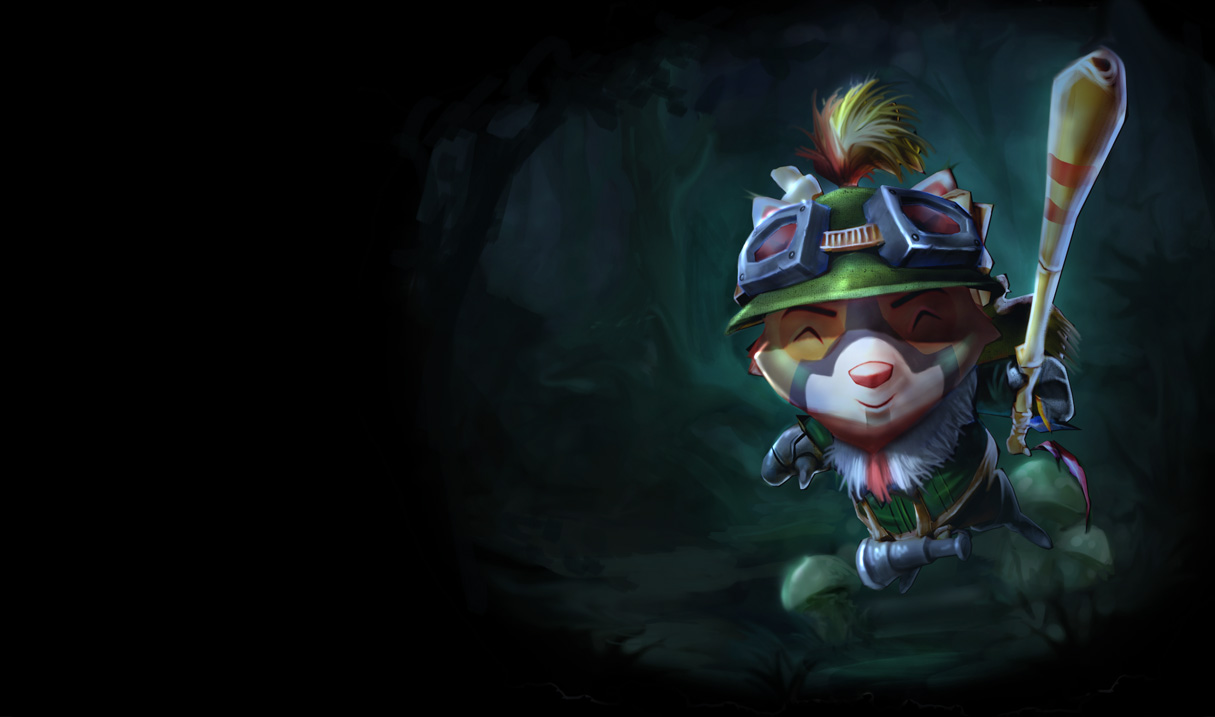 Recon Teemo Skin League Of Legends Wallpapers