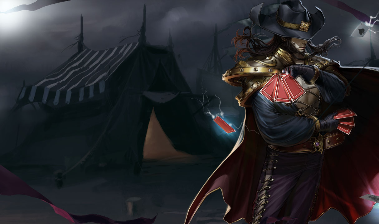 Twisted fate league of legends wallpapers twisted fate unknown art voltagebd Gallery
