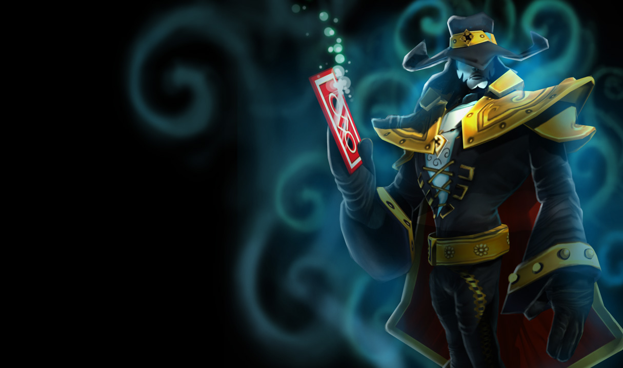 Twisted Fate Classic Skin Original League Of Legends Wallpapers