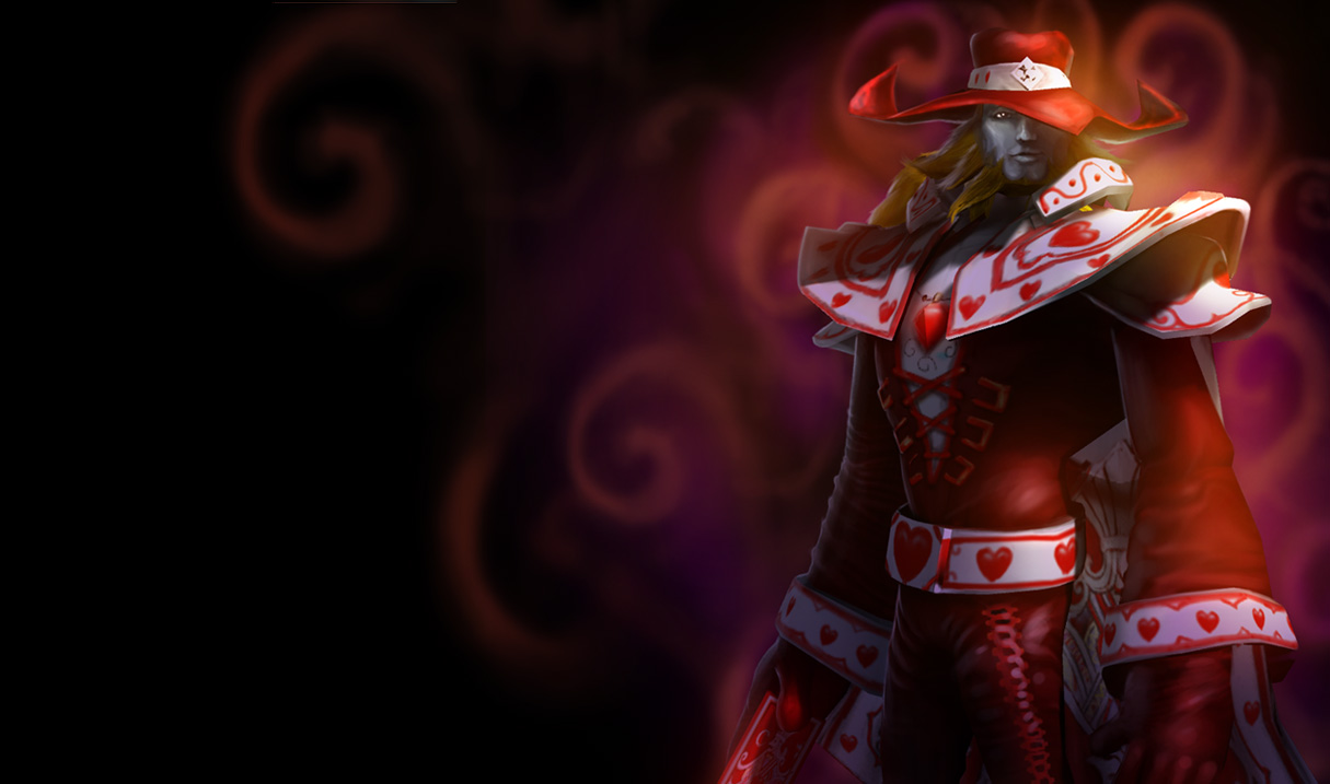 Jack of Hearts Twisted Fate Skin - Old