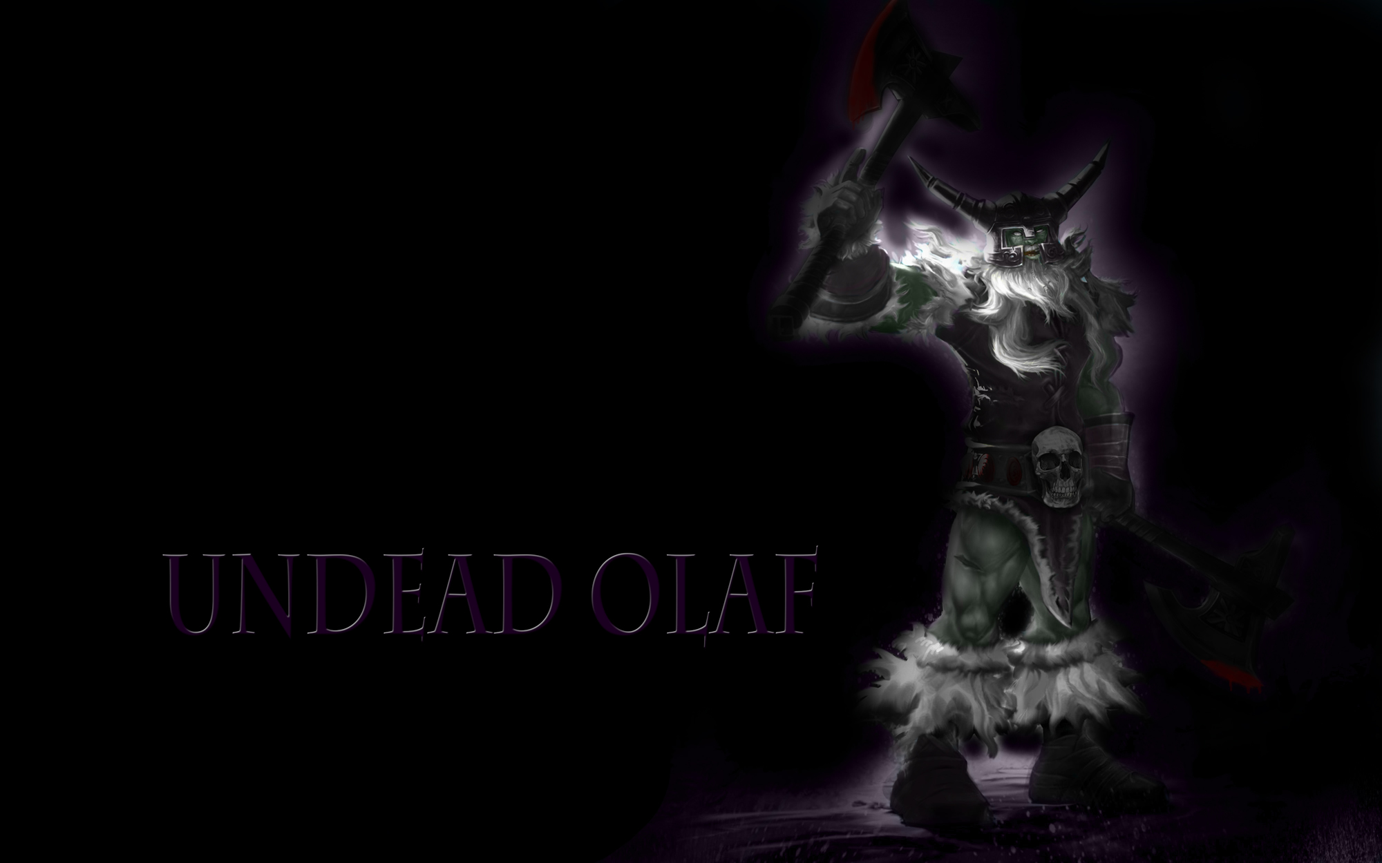 Undead Olaf Wallpaper