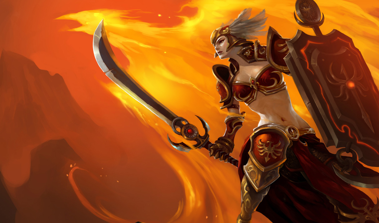 Valkyrie Leona Skin Chinese League Of Legends Wallpapers