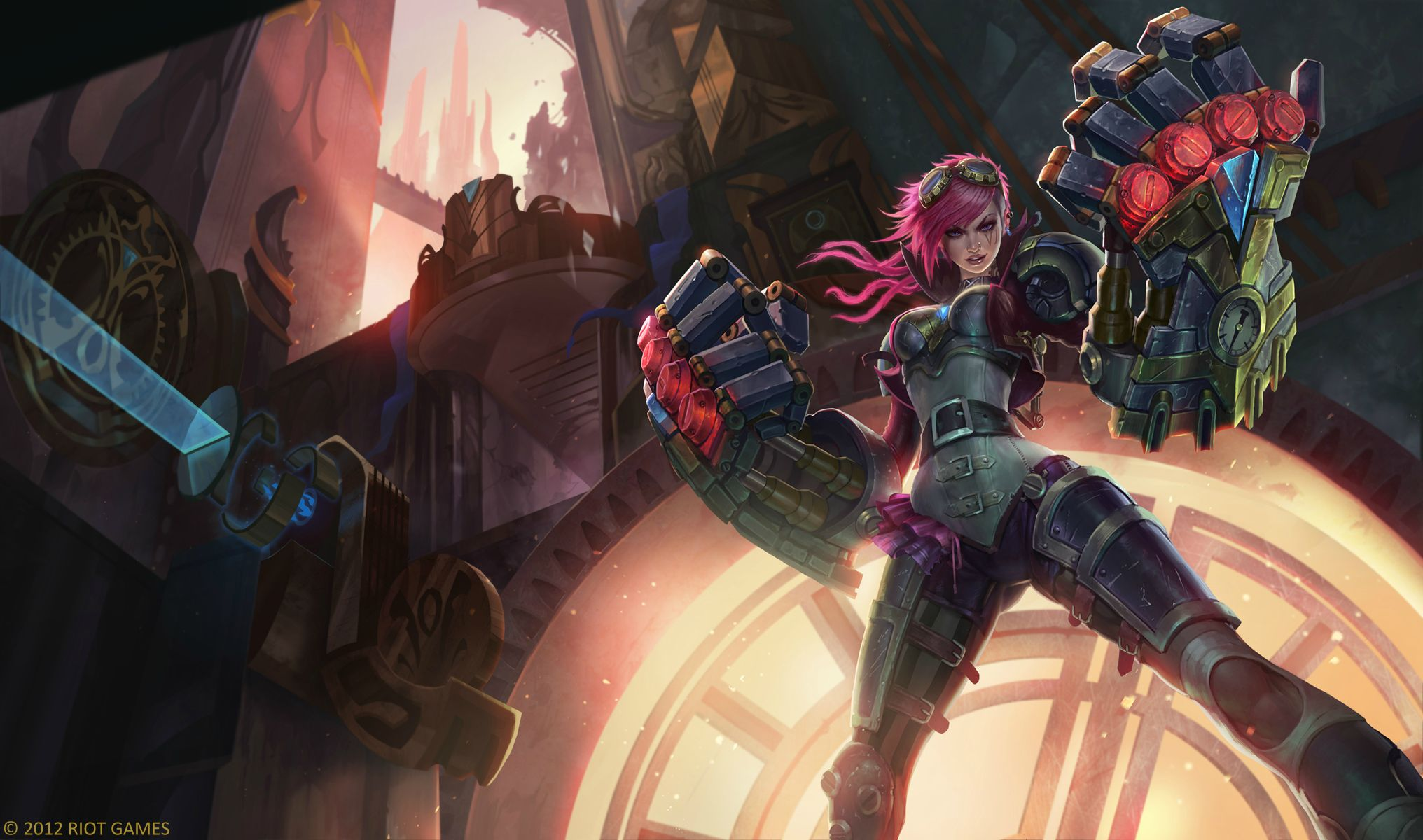 Vi League Of Legends Wallpapers